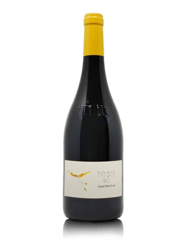 Flasche Fin Bec Domaine Chatrôz Rouge Bio