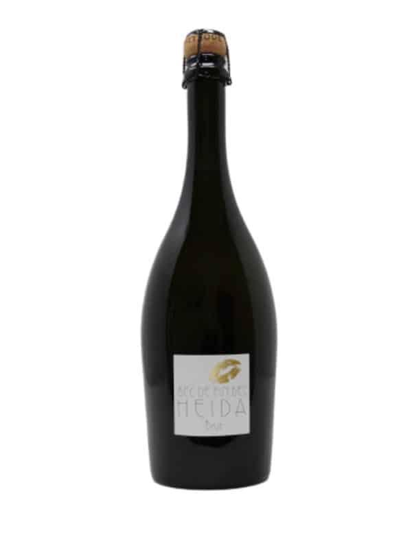 Flasche Fin Bec Heida Brut Schaumwein